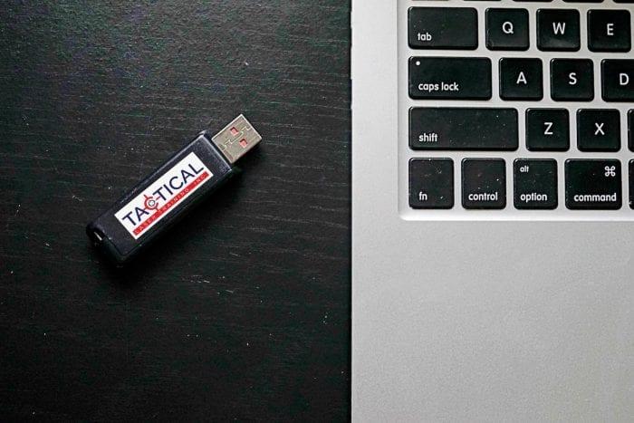 tactical flash drive