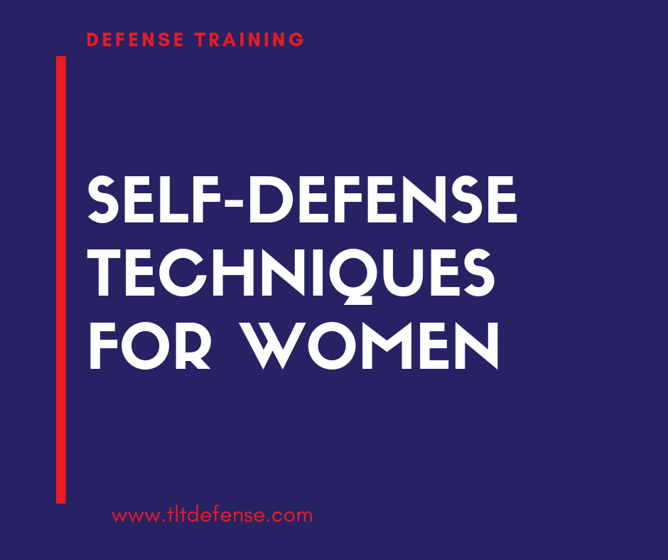 self defense techniques for women