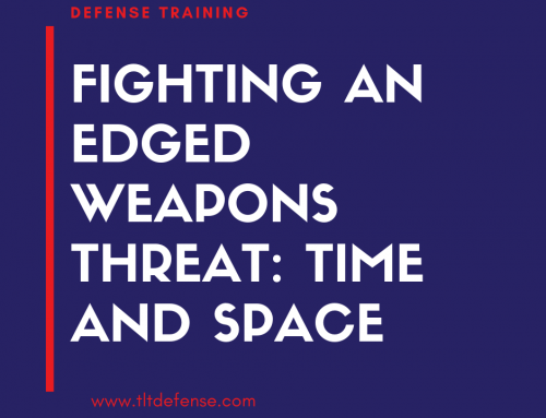 Fighting an Edged Weapons Threat: Time and Space