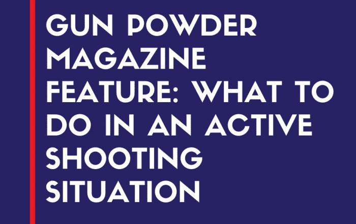 gun powder magazine graphic