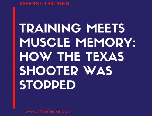 Training Meets Muscle Memory: How the Texas Shooter Was Stopped