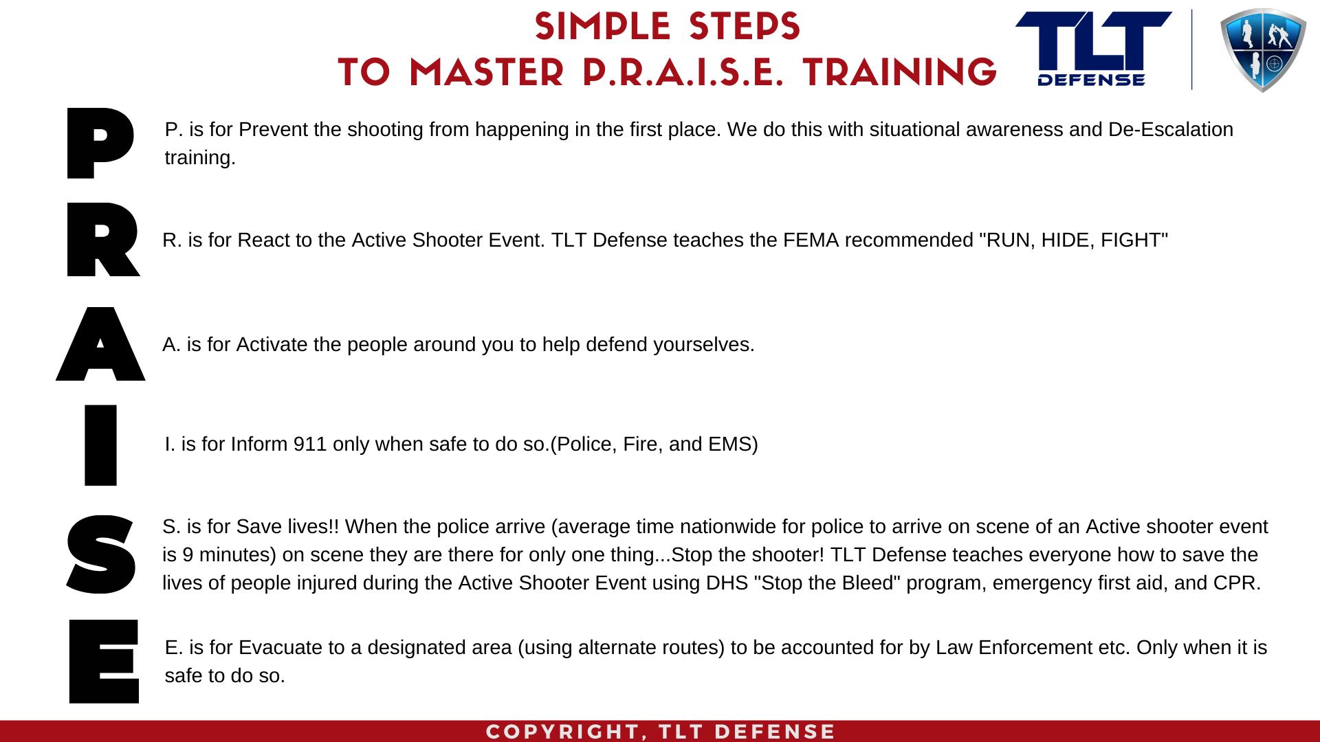 PRAISE Training
